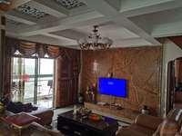丽都文华,豪华装修60万,电梯复式,全屋品牌家具家电,三阳台,二个阳光房,无税