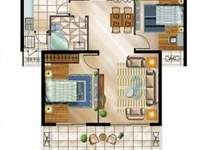 舟基金色家园 黄金楼层 两室毛坯 经典户型 客厅通阳台 超大双阳台 采光无敌