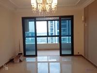 恒大翡翠华庭,全新精装修三室两厅两卫燃气热水器,空调两台房租年交,1800/月